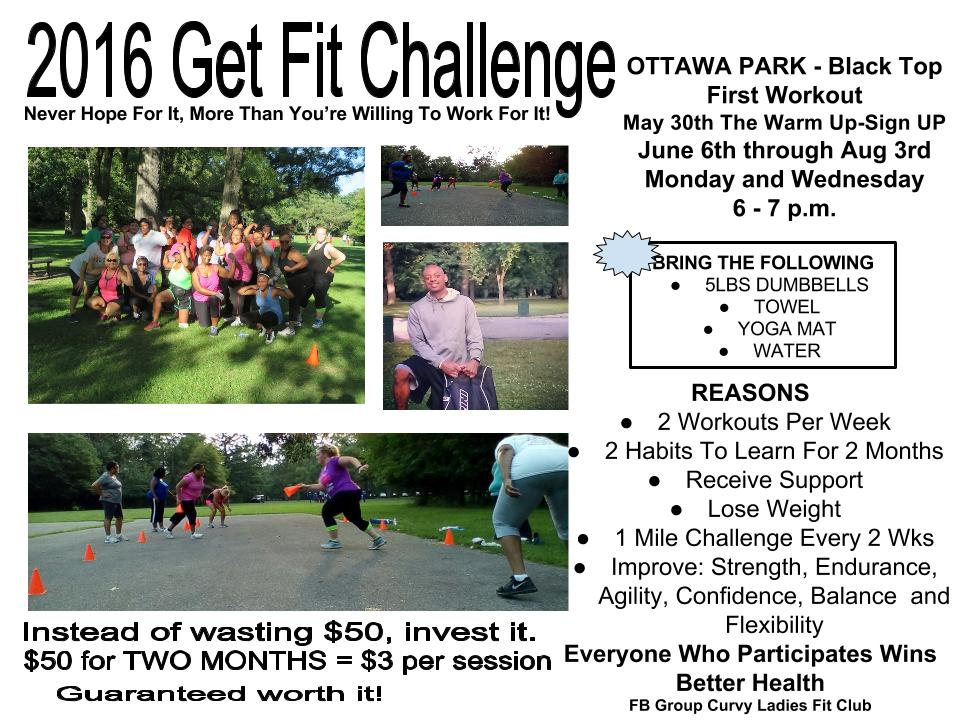 2016 get fit challenge